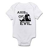 Axis of Evil  Baby Onesie