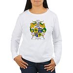 Cerezo Family Crest Women's Long Sleeve T-Shirt