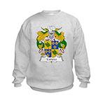 Cerezo Family Crest Kids Sweatshirt