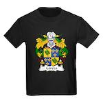 Cerezo Family Crest Kids Dark T-Shirt