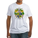 Cerezo Family Crest Fitted T-Shirt