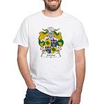 Cerezo Family Crest White T-Shirt