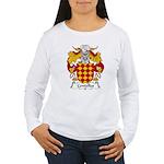 Centelles Family Crest Women's Long Sleeve T-Shirt