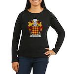 Centelles Family Crest Women's Long Sleeve Dark T-