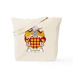 Centelles Family Crest Tote Bag