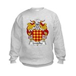 Centelles Family Crest Kids Sweatshirt