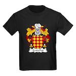 Centelles Family Crest Kids Dark T-Shirt