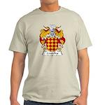 Centelles Family Crest Light T-Shirt