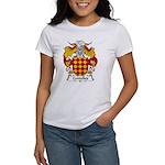 Centelles Family Crest Women's T-Shirt