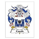 Casals Family Crest Small Poster