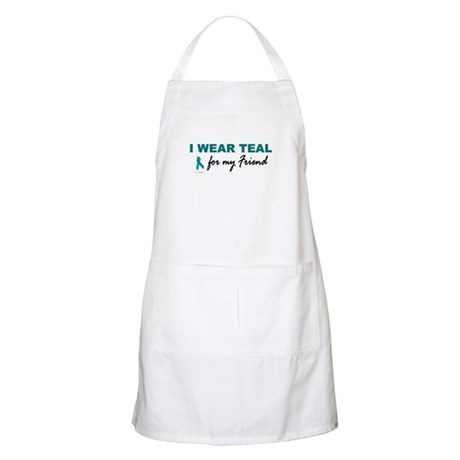 I Wear Teal For My Friend 2 BBQ Apron