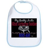 My Daddy-82nd Airborne Soldie Bib