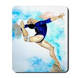 Floor Exercise Gymnast Mousepad