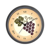 Wine Lovers' Wall Clock