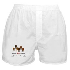 Nothin' Butt MinPins Boxer Shorts