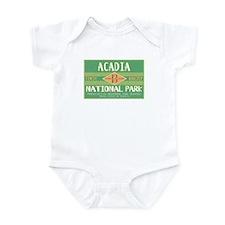 Acadia National Park (Retro) Infant Bodysuit