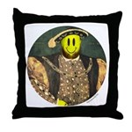 Smiley VIII Throw Pillow