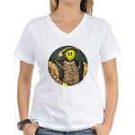 Smiley VIII Women's V-Neck T-Shirt