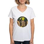 Smiley VIII Women's V-Neck T-Shirt