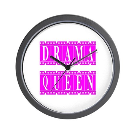 Drama Queen Wall Clock