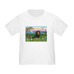 Lighthouse/Cavalier Toddler T-Shirt