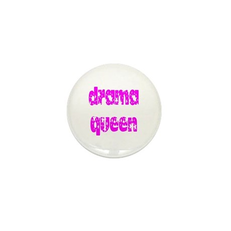 Drama Queen Mini Button
