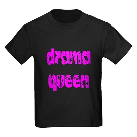 Drama Queen Kids Dark T-Shirt