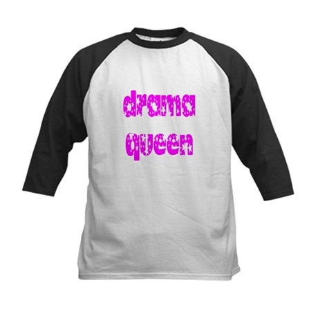 Drama Queen Kids Baseball Jersey