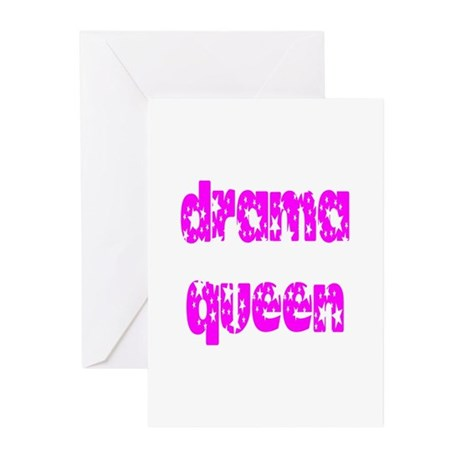 Drama Queen Greeting Cards (Pk of 20)