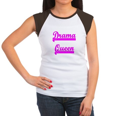 Drama Queen Women's Cap Sleeve T-Shirt