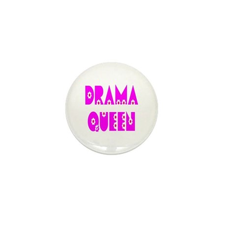 Drama Queen Mini Button (10 pack)