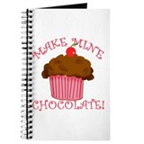 Chocolate Cupcake Journal