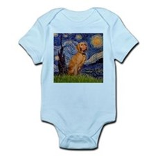 Starry Night & Vizsla Infant Creeper
