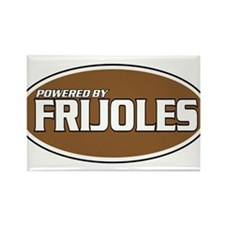 Powered By Frijoles Rectangle Magnet (100 pack)