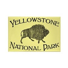 Yellowstone National Park (Bison) Rectangle Magnet