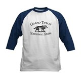 Grand Teton National Park (Wolf) Tee