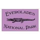 Everglades National Park (Crocodile) Stickers