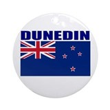 Dunedin, New Zealand Ornament (Round)