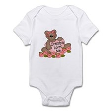 Grandpa Loves Me CUTE Bear Infant Bodysuit