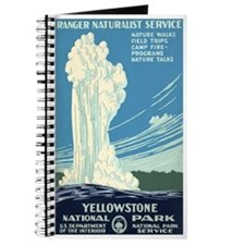 1930s Vintage Yellowstone National Park Journal