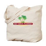 Key West Palms - Tote Beach Bag