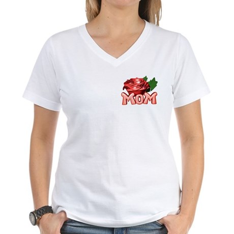 Mom Women's V-Neck T-Shirt