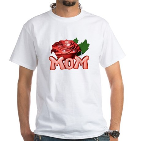 Mom White T-Shirt