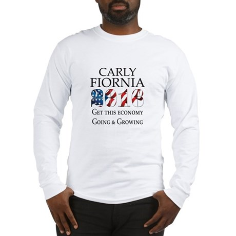 Carly Fiorina 2016 Going and Growing Long Sleeve T