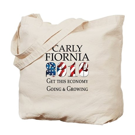 Carly Fiorina 2016 Going and Growing Tote Bag