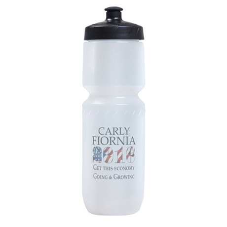 Carly Fiorina 2016 Going and Growing Sports Bottle