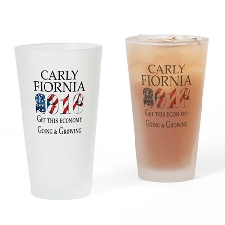 Carly Fiorina 2016 Going and Growing Drinking Glas