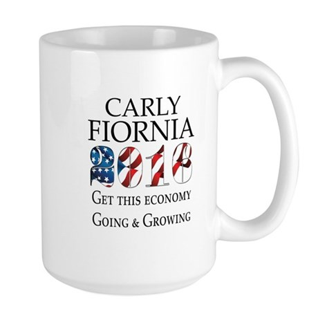 Carly Fiorina 2016 Going and Growing Mugs
