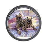 Truman and Mia Brussels Griff Wall Clock