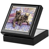 Truman and Mia Brussels Griff Keepsake Box